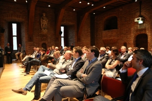 Pitches in de Ridderzaal